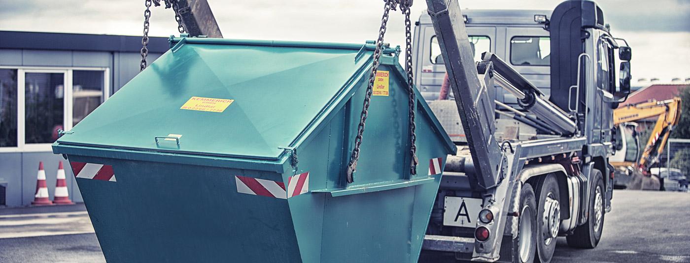 pferdemist container entsorgung